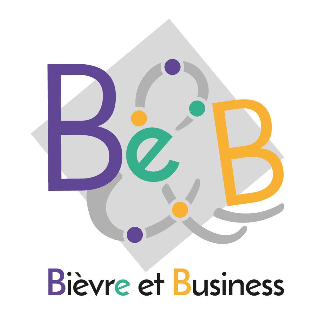 Logo réalisé par JDB Graphiste pour Bièvre & Business - Be&B réseau d'entrepreneurs