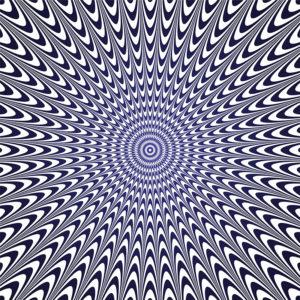 illusion d'optique, anamorphose, projet graphique, effet visuel, effet de relief, effet de mouvement, profondeur, formes et couleurs, perception visuelle, contraste